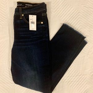 NWT 7 for all mankind Roxanne ankle dark blue jean